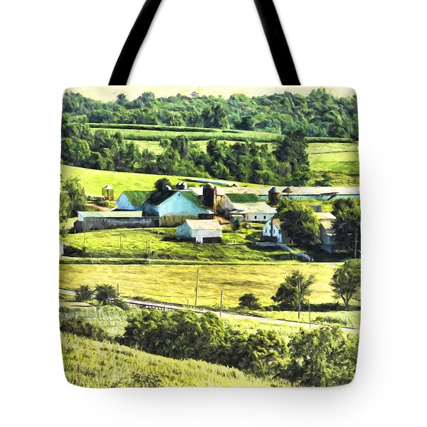 Tote Bag featuring the photograph Farm Fresh by Anthony Baatz