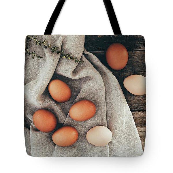 Tote Bag featuring the photograph Farm Fresh by Kim Hojnacki