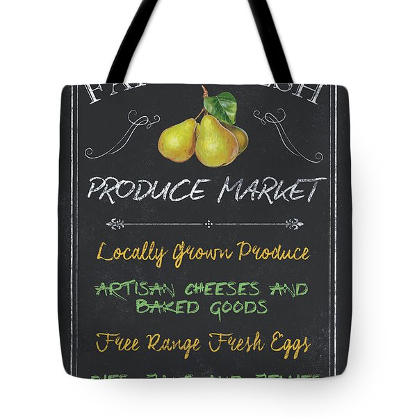 Farm Fresh Produce Tote Bag