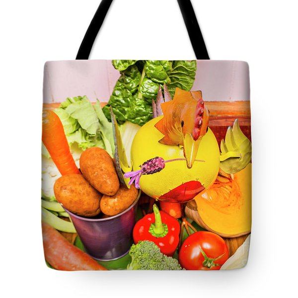 Farm Fresh Produce Tote Bag by Jorgo Photography - Wall Art Gallery