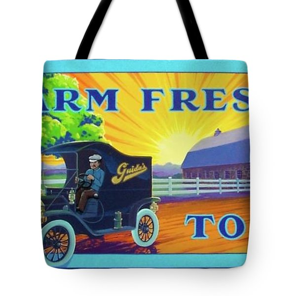 Farm Fresh To You  Tote Bag
