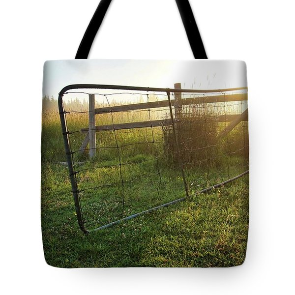 Farm Gate Tote Bag