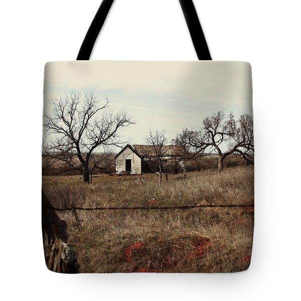 Farm House, Abandoned Tote Bag