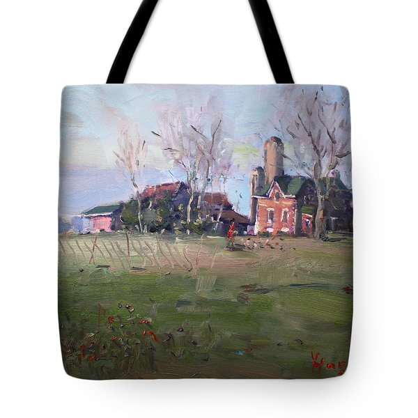 Farm In Georgetown Tote Bag