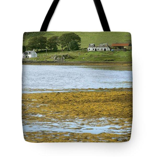 Farm In Isle Of Skye, Uk Tote Bag