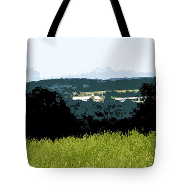 Farm In The Valley Tote Bag by Spyder Webb
