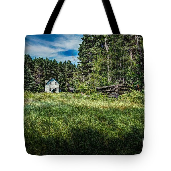 Farm In The Woods Tote Bag