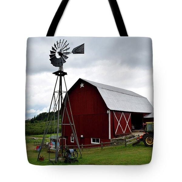 Farm In Traverse City Mi Tote Bag