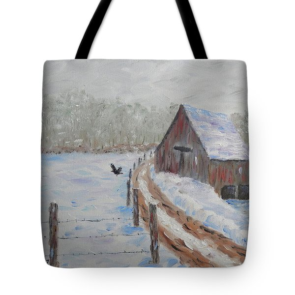 Farm Land Tote Bag