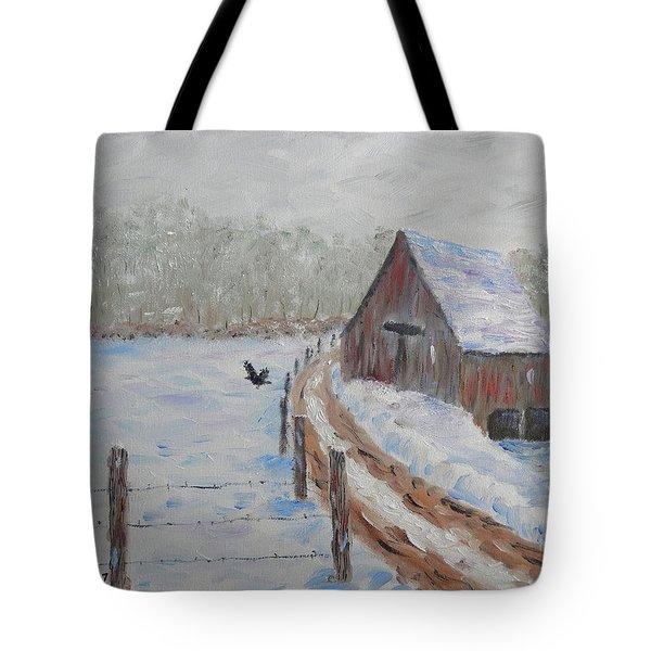 Farm Land Tote Bag by Stanton Allaben