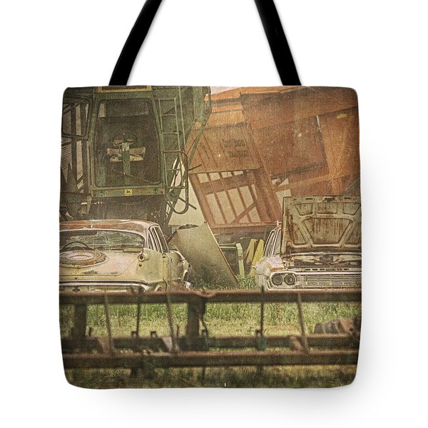 Farm Machines Tote Bag