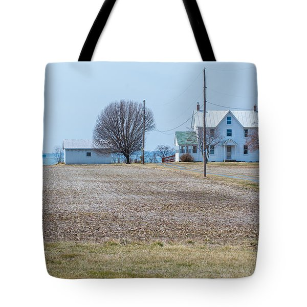 Farm On The Bay Tote Bag