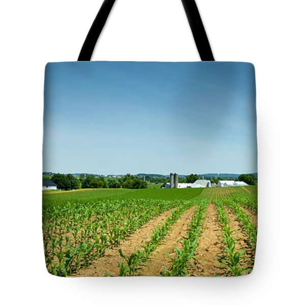 Farm Panorama Tote Bag