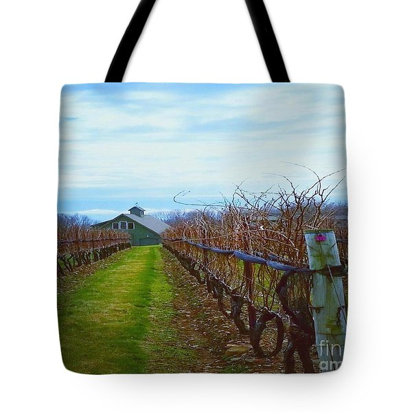 Tote Bag featuring the photograph Farm by Raymond Earley
