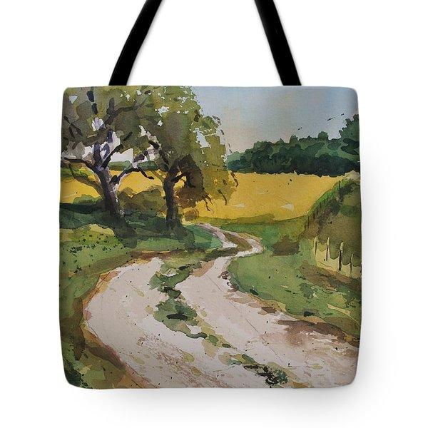 Farm Road Tote Bag