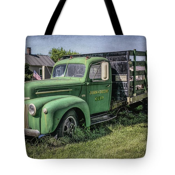 Farm Truck Tote Bag