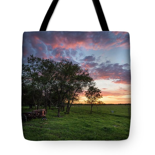 Farm View  Tote Bag
