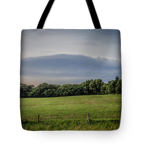 Farm Weather Tote Bag by Ray Congrove