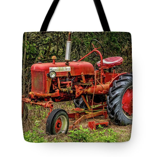 Tote Bag featuring the photograph Farmall Cub by Christopher Holmes