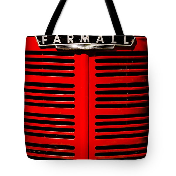 Farmall Grill Tote Bag by Sherman Perry