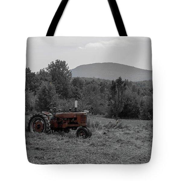 Farmall Tractor - Dedham Maine Tote Bag