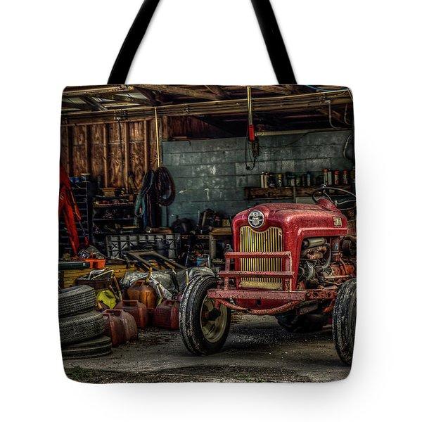 Farmall Tractor - Forever Florida Tote Bag