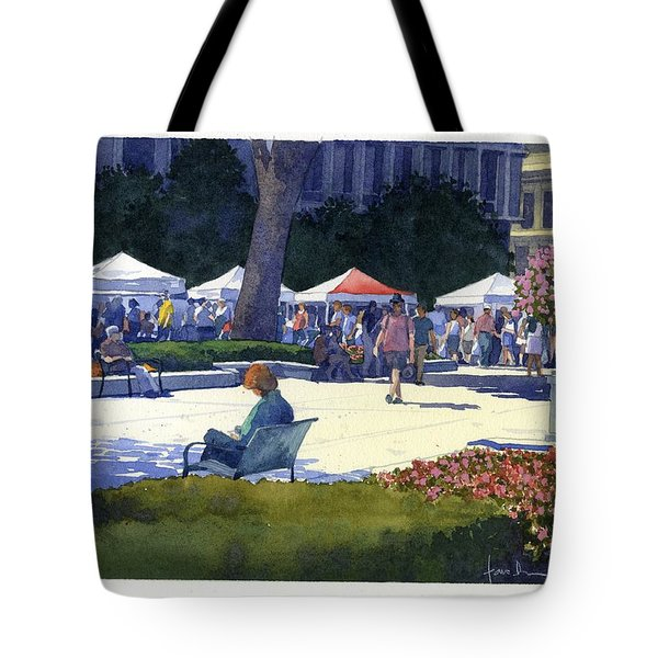 Farmers Market, Madison Tote Bag