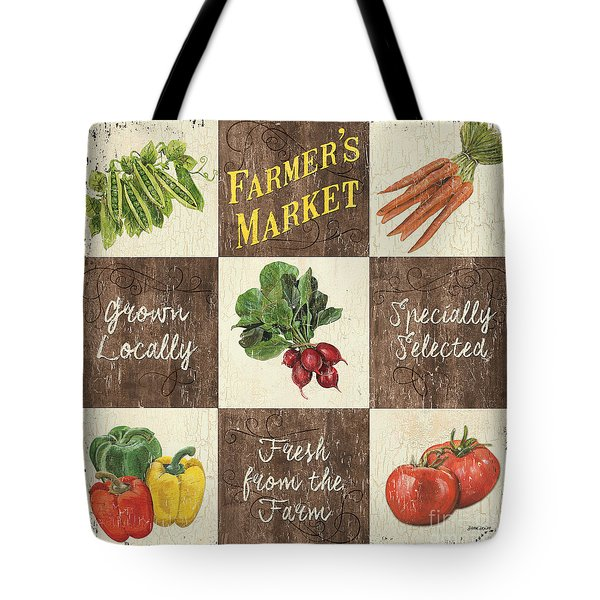 Farmer's Market Patch Tote Bag