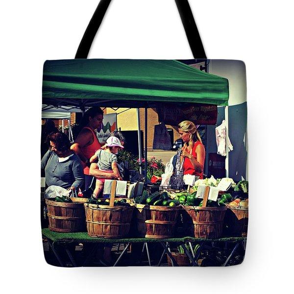 Farmers Market Produce  Tote Bag