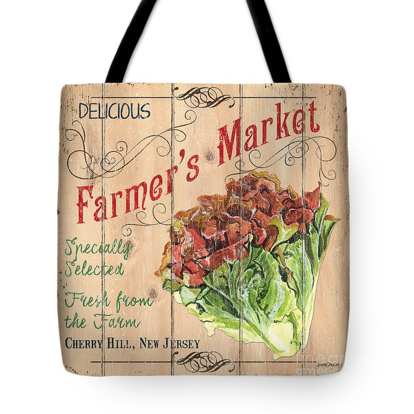 Farmer's Market Sign Tote Bag