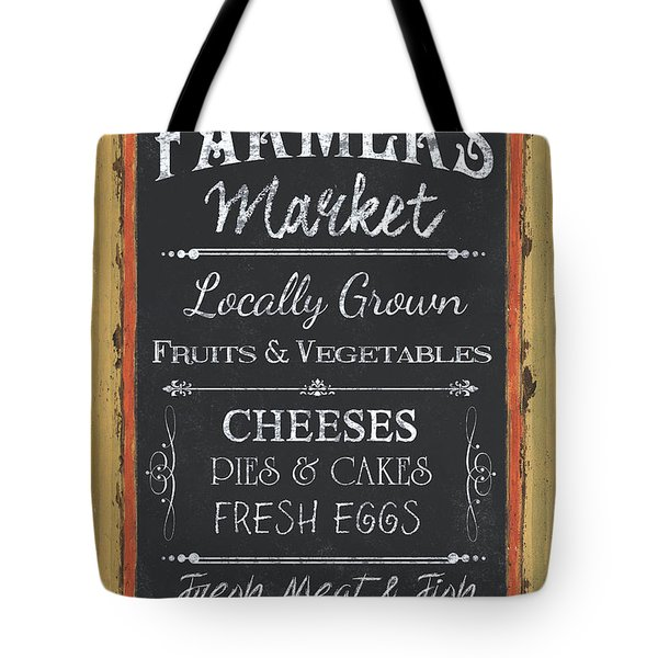 Farmer's Market Signs Tote Bag