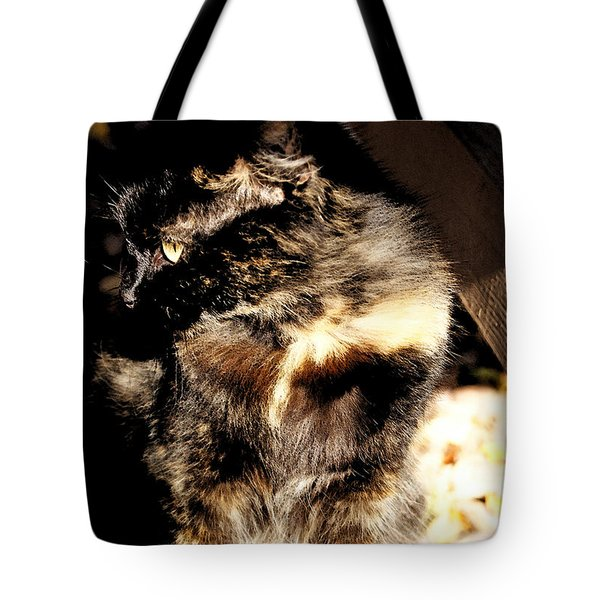 Farmhouse Cat Tote Bag