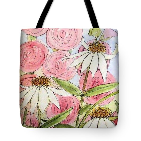 Farmhouse Garden Tote Bag by Laurie Rohner