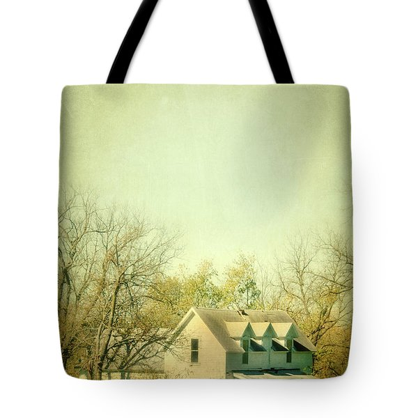 Farmhouse In Arkansas Tote Bag by Jill Battaglia