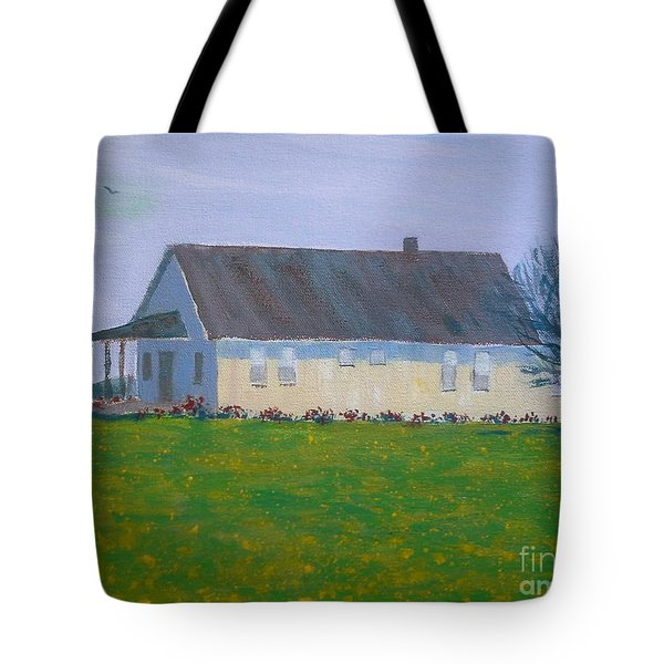 Farmhouse In Winlock Washington Tote Bag