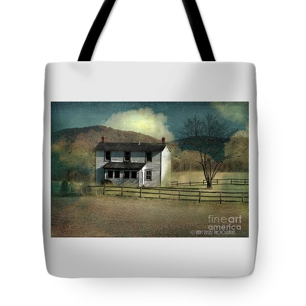 Farmhouse Tote Bag by Kathy Russell