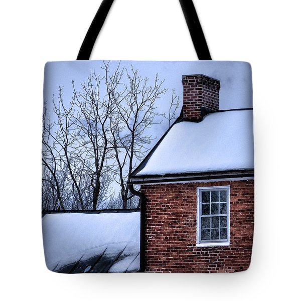 Tote Bag featuring the photograph Farmhouse Window by Robert Geary