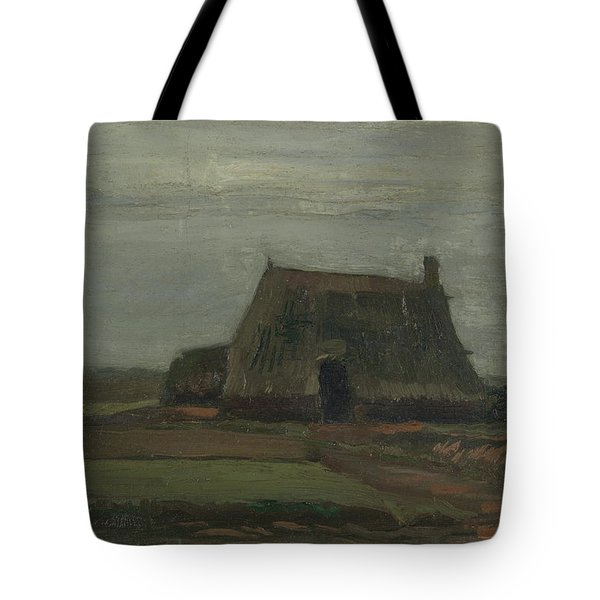 Farmhouse With Peat Stacks, 1883 Tote Bag