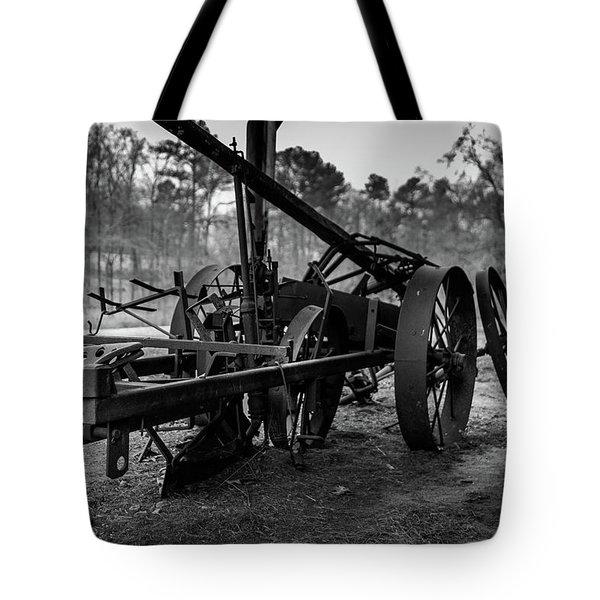 Farming Equipment Tote Bag