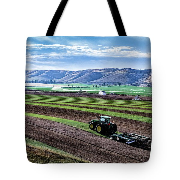Farming In Pardise Agriculture Art By Kaylyn Franks Tote Bag