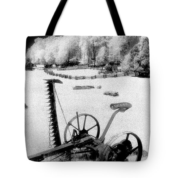 Farming Old Style Tote Bag