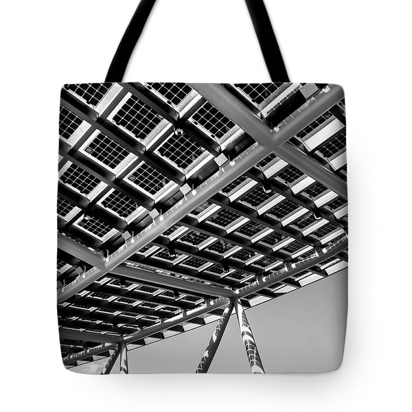 Farming The Sun - Architectural Abstract Tote Bag