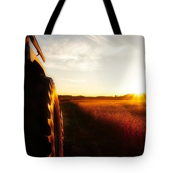 Farming Until Sunset Tote Bag