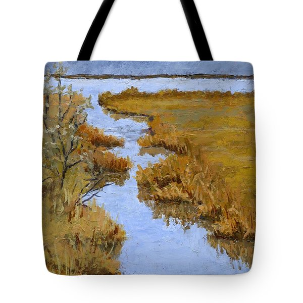 Farmington Bay Marsh Tote Bag