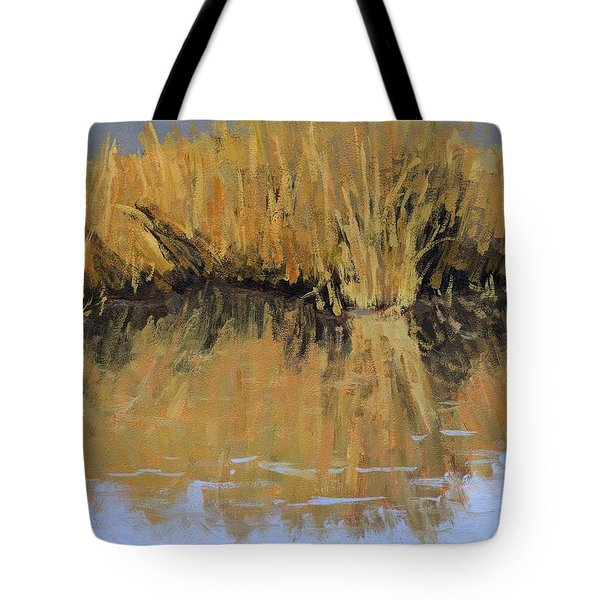 Farmington Bay Reeds Tote Bag