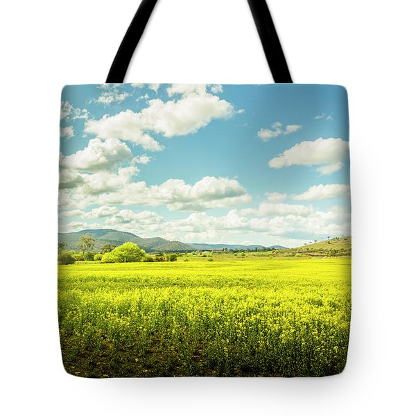 Farmland Colour Tote Bag