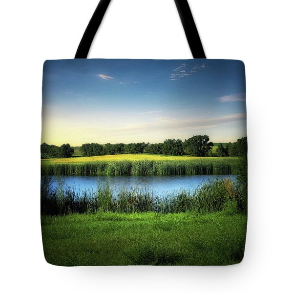 Farmland Waters Tote Bag