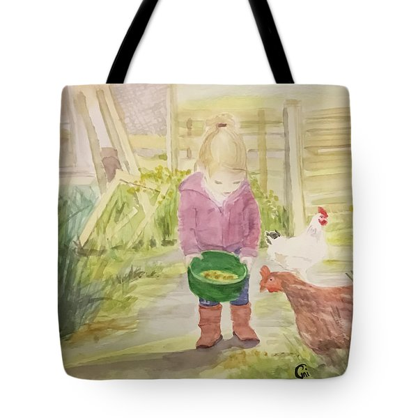 Farm's Life  Tote Bag