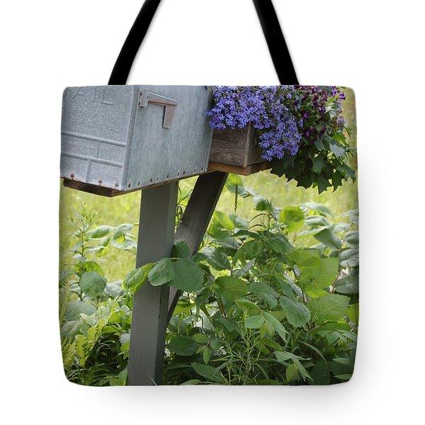 Farm's Mailbox Tote Bag