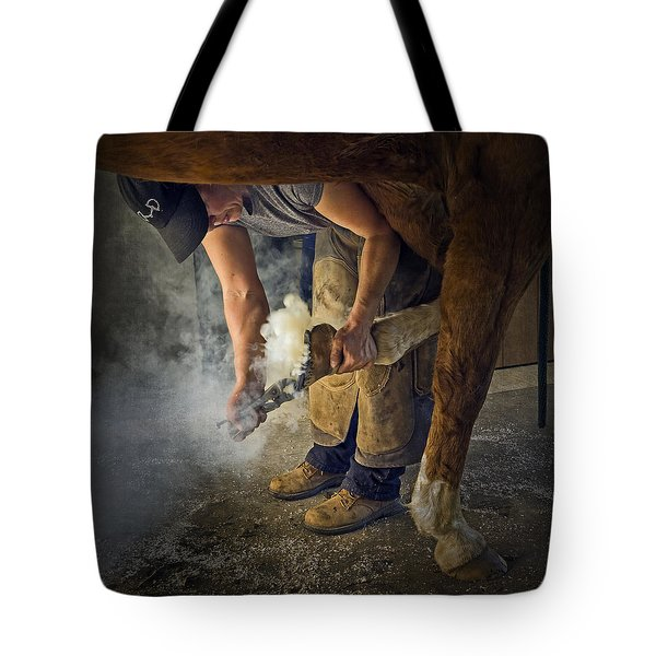 Farrier Visit - 365-46 Tote Bag